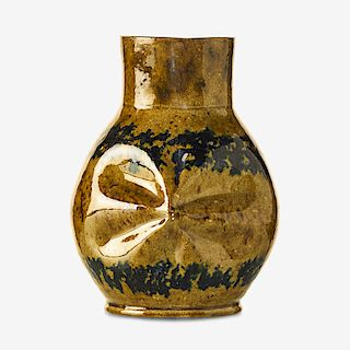 GEORGE OHR Large pinched vase