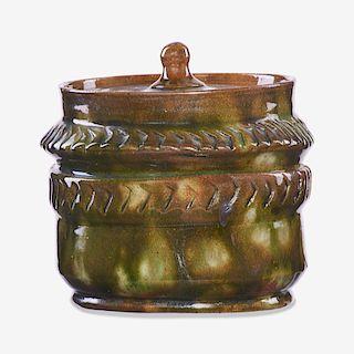 GEORGE OHR Jar