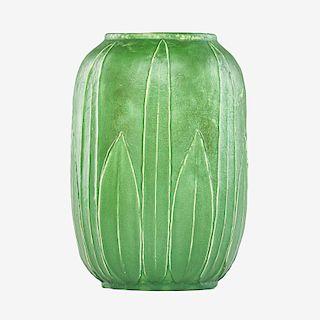 GRUEBY Fine large vase