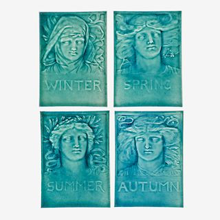 J.G. & J.F. LOW Four seasons tiles