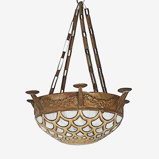 FULPER Rare Vasekraft chandelier
