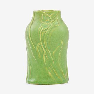 VAN BRIGGLE Rare early vase, 1901