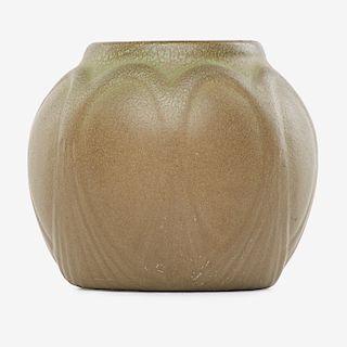 VAN BRIGGLE Early vase, 1904