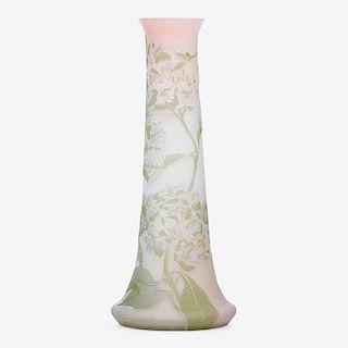 GALLE Tall hydrangea vase