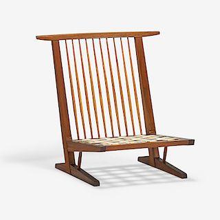 GEORGE NAKASHIMA Conoid Cushion Lounge Chair