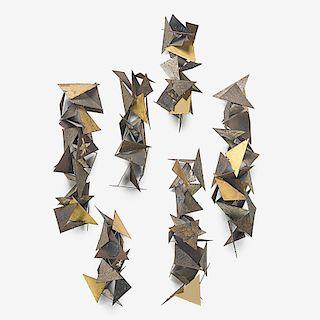 PAUL EVANS Wall sculpture