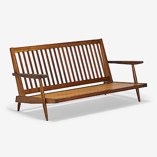 GEORGE NAKASHIMA Cushion Sofa with Arms