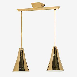 PAAVO TYNELL Two-pendant fixture/chandelier