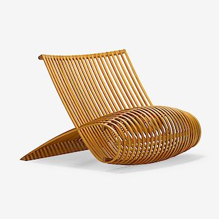 MARC NEWSON; CAPELLINI Lounge chair