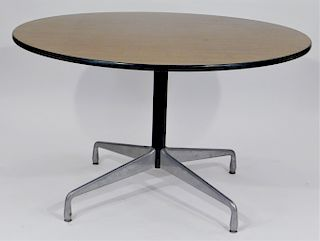 Herman Miller Aluminum Group Round Center Table