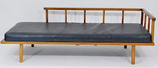MCM 1960's Walnut Day Bed Couch