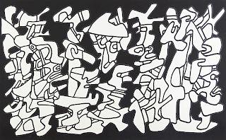 "Jean Dubuffet ""Evocations"" Screenprint"