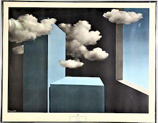 Rene Magritte (Belgium1898-1967) Offset Lithograph