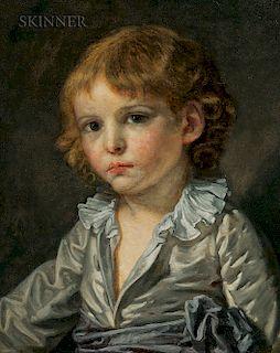 Jean-Baptiste Greuze (French, 1725-1805)  Un Petit Garçon