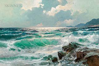 Alexander Dzigurski (American/Yugoslavian, 1911-1995)  Morning Tide