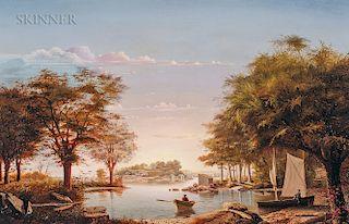 D. Jerome Elwell (American, 1847-1912)  Gloucester