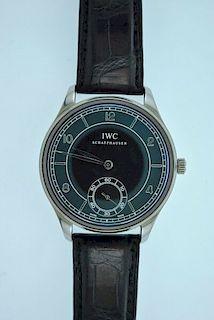 IWC Schaffhausen Portugieser Vintage Stainless Steel Automatic LTD Retail $12K