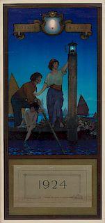 "Maxfield Parrish ""The Venetian Lamplighter"""