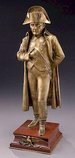 Bronze sculpture of Napoleon Bonaparte by Vincent