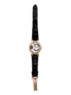 Harry Winston, 18K Pink Gold Ref. 200MASR37R 'Premier Excenter' Wristwatch
