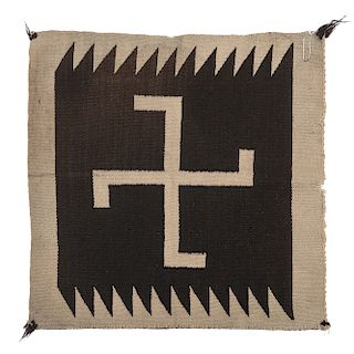 Navajo Germantown Sampler Weaving / Rug, From a Midwest Collection