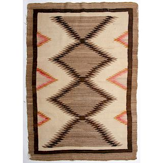 Navajo Regional Weaving / Rug, From the Stanley Slocum Collection, Minnesota