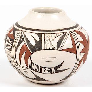 Joy Navasie (Hopi, 1919-2012) Pottery Jar, From the Robert B. Riley Collection, Illinois