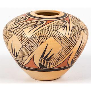 Adelle L. Nampeyo (Hopi, b. 1959) Pottery Jar