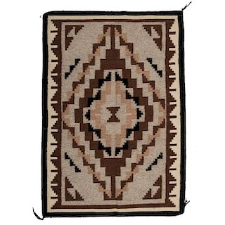Navajo Two Grey Hills Weaving / Rug, From the Robert B. Riley Collection, Illinois