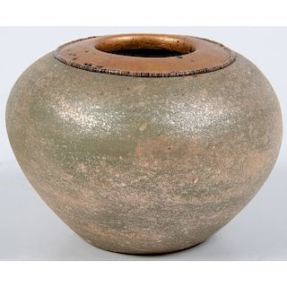 Russell Sanchez (San Ildefonso, b. 1963) Pottery Bowl, From the Robert B. Riley Collection, Illinois