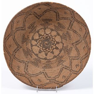 Apache Basket, with Dogs, From The Harriet and Seymour Koenig Collection, New York