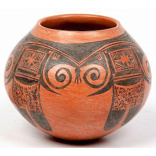Priscilla Namingha Nampeyo (Hopi, 1924-2008) Pottery Jar