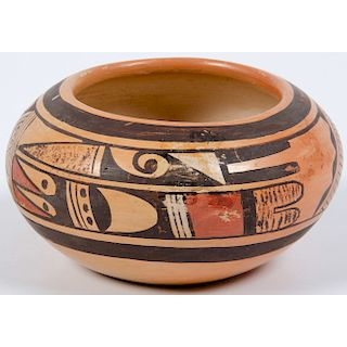 Fannie Nampeyo (Hopi, 1900-1987) Pottery Bowl, From the Stanley Slocum Collection, Minnesota
