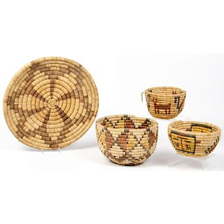 Hopi Baskets, From The Harriet and Seymour Koenig Collection, New York