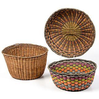 Hopi Third Mesa Baskets, From The Harriet and Seymour Koenig Collection, New York