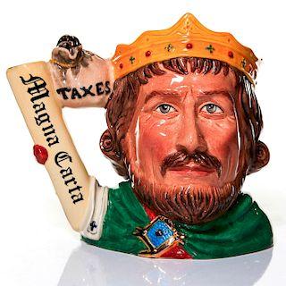 ROYAL DOULTON CHARACTER JUG, KING JOHN D7125