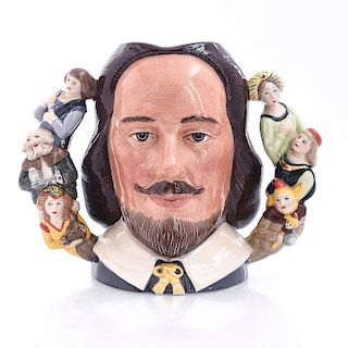 LG ROYAL DOULTON CHARACTER JUG, WILLIAM SHAKESPEARE