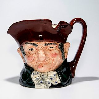 ROYAL DOULTON LARGE CHARACTER JUG, OLD CHARLEY D5420