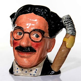 ROYAL DOULTON LARGE CHARACTER JUG, GROUCHO MARX, D6710