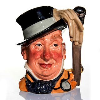 ROYAL DOULTON LARGE CHARACTER JUG, MR. MICAWBER D7040