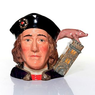 ROYAL DOULTON LARGE CHARACTER JUG, RICHARD III D7099