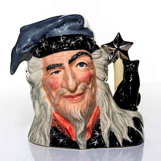 ROYAL DOULTON LARGE CHARACTER JUG, THE WIZARD, D6862