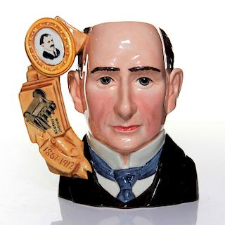 ROYAL DOULTON LARGE CHARACTER JUG, WILBUR WRIGHT D7179