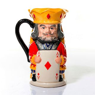 ROYAL DOULTON TOBY JUG, KING AND QUEEN OF DIAMONDS