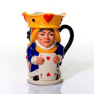 ROYAL DOULTON TOBY JUG, KING AND QUEEN OF HEARTS, D7037