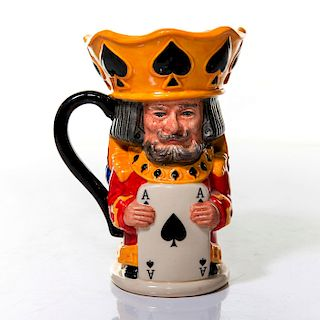 ROYAL DOULTON TOBY JUG, KING AND QUEEN OF SPADES, D7087