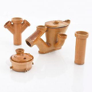 4 DOULTON SALESMAN SAMPLES PLUMBING FIXTURES