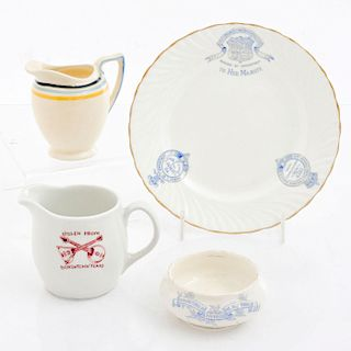 ROYAL DOULTON ADVERTISING HOTEL CHINA SET