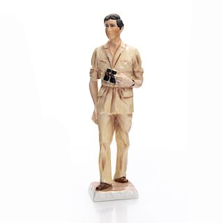 COALPORT FIGURE HIS ROYAL HIGHNESS THE PRINCE OF WALES