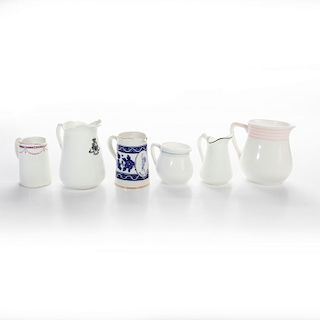ROYAL DOULTON HOTEL ADVERTISING WARE MINI PITCHERS